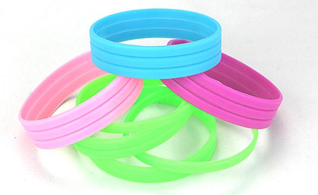 Rubber Bracelets Blank