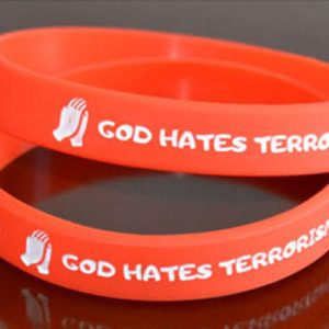 this is 1/2inch Orange Silicone Wristband