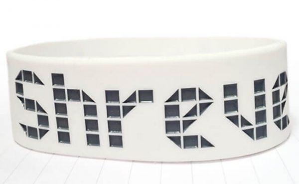 Ink Injected Wristbands