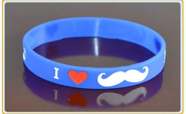 Moustache Wristbands