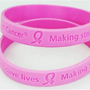 Ribbon Awareness Cancer Wristbands