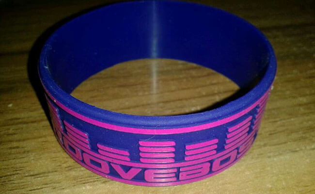 1inch Embossed Printed Wristband