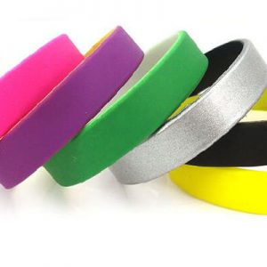 Dual Layer Silicone Wristbands