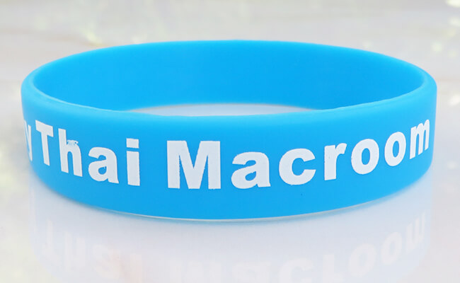screen printed wristband