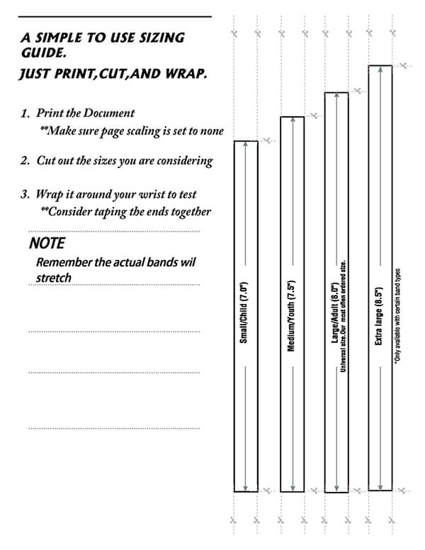 Wristband-Size-Guide
