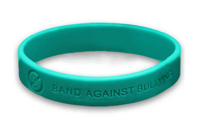 Custom Anti Bullying Bracelet