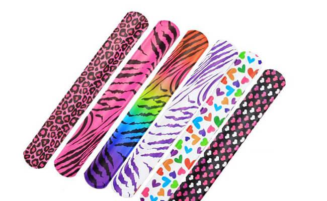 PVC Slap Wristband