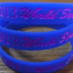 1/2inch Ink-filled Wristbands