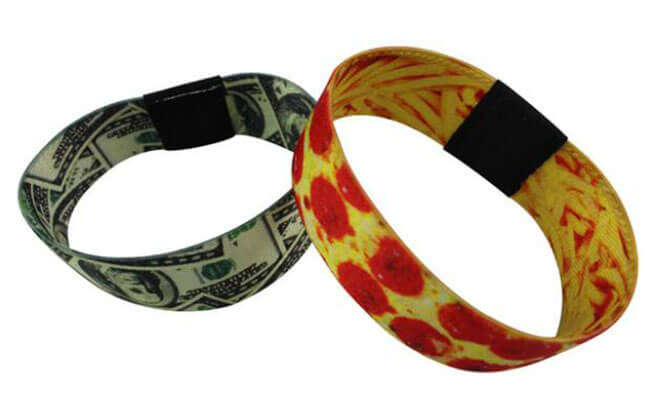 Woven Wristbands Polyester