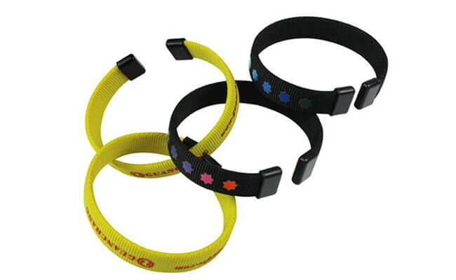 polyester wristbands