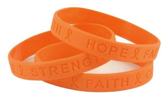 This is a Leukemia Awareness Wristbands