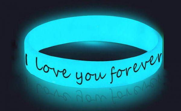 Glowing In The Dark Wristband