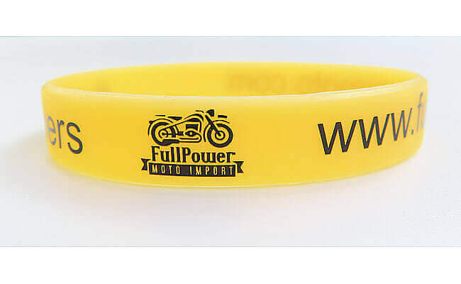 1/2inch printed wristbands