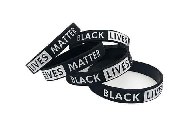 black lives matter wristbands